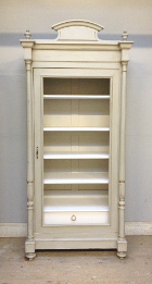 french antique armoire / display cupboard