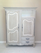 old french Provencal style armoire / cupboard