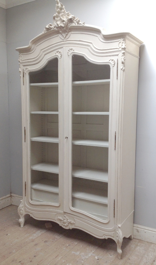 If3977 antique french rococo double armoire for French style furniture stores