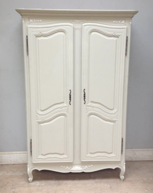 if4007 vintage french louis xv style armoire. Black Bedroom Furniture Sets. Home Design Ideas