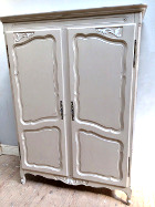 vintage french double door armoire