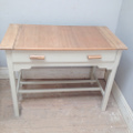 vintage baking table