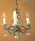 superb vintage french light
