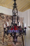 hugh french antique gothic chandelier