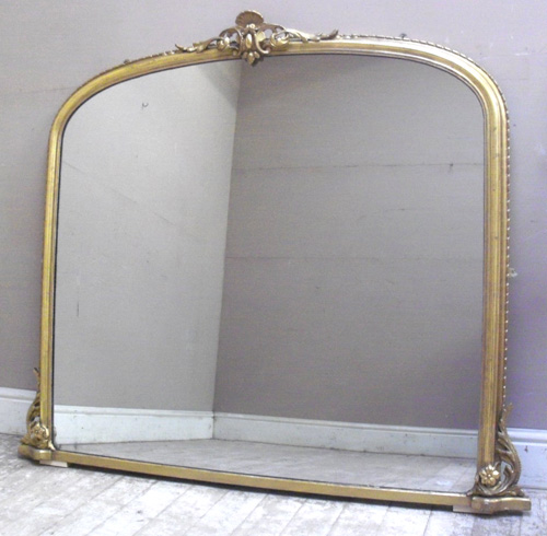 Imw2265 stunning antique overmantle mirror for Overmantle mirror