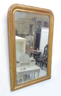 french antique large lp mirror