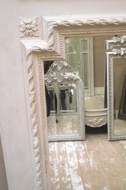 Imw2583 Stunning French Antique Trumeau Mirror