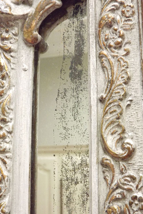Imw3257 Stunning French Antique Cushion Mirror