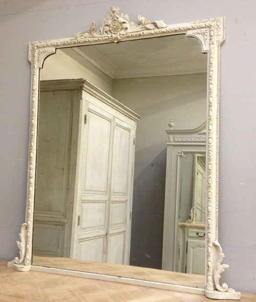Imw3388 painted victorian overmantle mirror for Victorian mirror