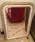 french antique Louis Philippe tyle mirror