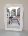 french anique small louis philippe style mirror