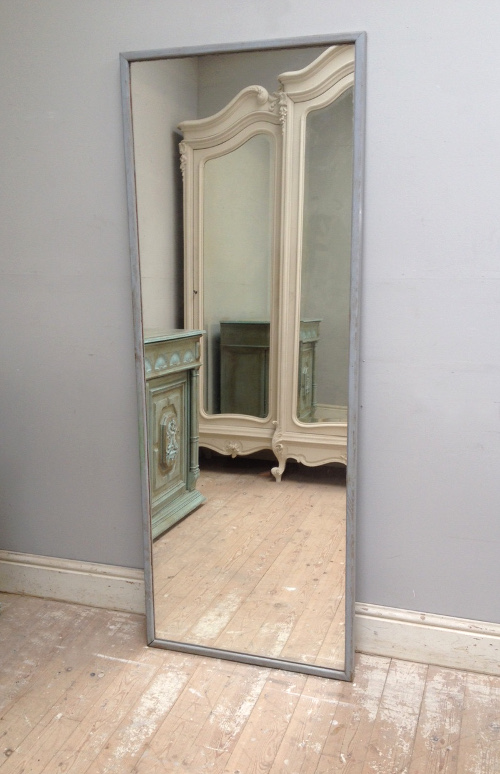 Imw4108 old french slim dressing mirror for Tall slim mirror