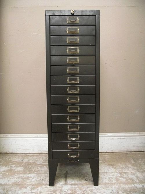 vintage stor index cabinet - APH42 Vintage Index Card Cabinet